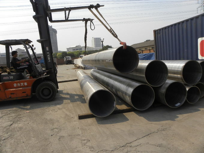 Boiler High Pressure Carbon Steel Pipe ASTM A106 Grade C 56'' 1422mm X 120mm Size