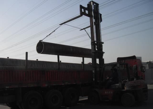 Gas Water Delivery Seamless Carbon Steel Pipe , Carbon Steel Welded Pipe Long Lifespan